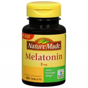Melatonin for jet lag.