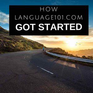 Language101.com history
