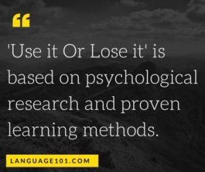 psychology of learning methods