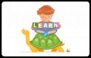 Children learn slowly