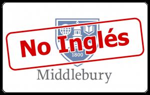 Real Language Immersion no-English at Middlebury