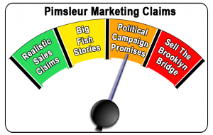 Pimsleur Marketing Claims Image