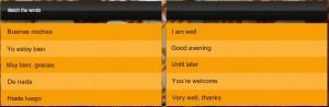 Fluenz game - screenshot