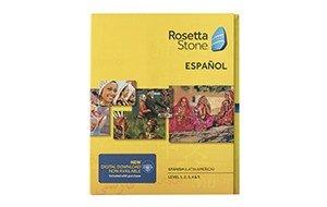 Rosetta Stone Spanish box
