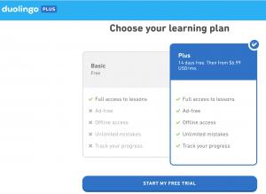 Duolingo Plus